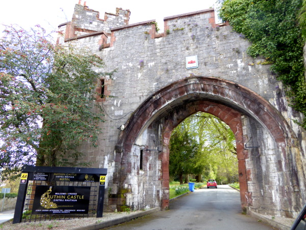 ruthin Castle wales
