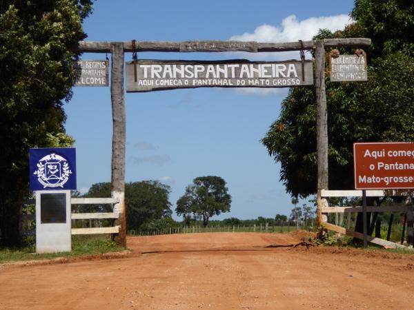 transpantaneira Mato Grosso eingang