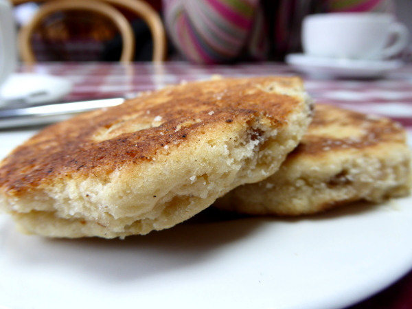 welsh Cake Wales mit Louise
