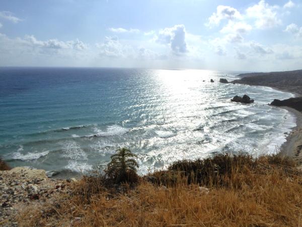 Aphroditefelsen Zypern Petra tou Romiou Aussichtspunkt