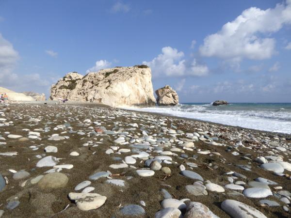 Aphroditefelsen Zypern Petra tou Romiou