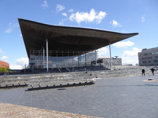 Cardiff Wales Parlament