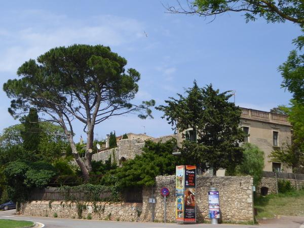 Eingang Sant Marti d Empuries