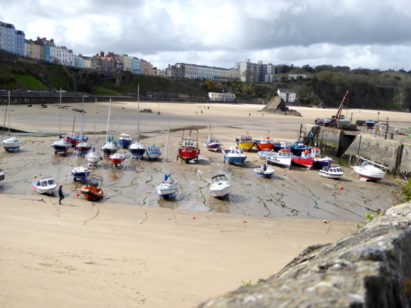 Hafen Tenby Pembrokeshire Wales Strand.