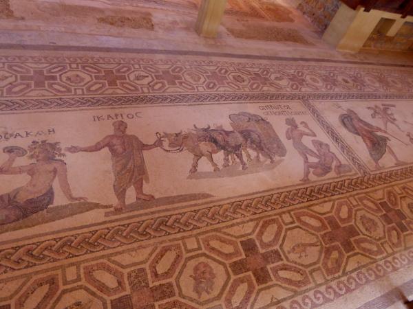 Ikarus und die Weindiebe Mosaik Kato Paphos Zypern