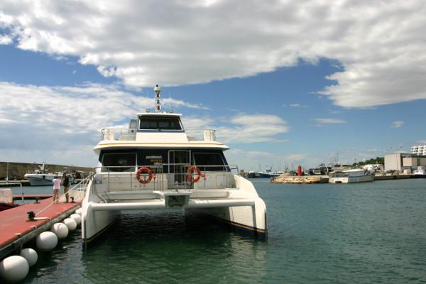 Katamaran Tuna tours Thunfisch Tour freibeuter reisen