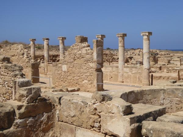 Kato Paphos Zypern ausgrabungen
