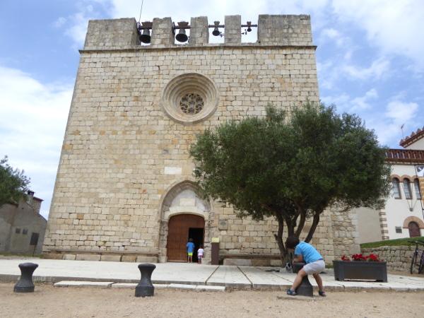 Kirche Sant Marti d Empuries