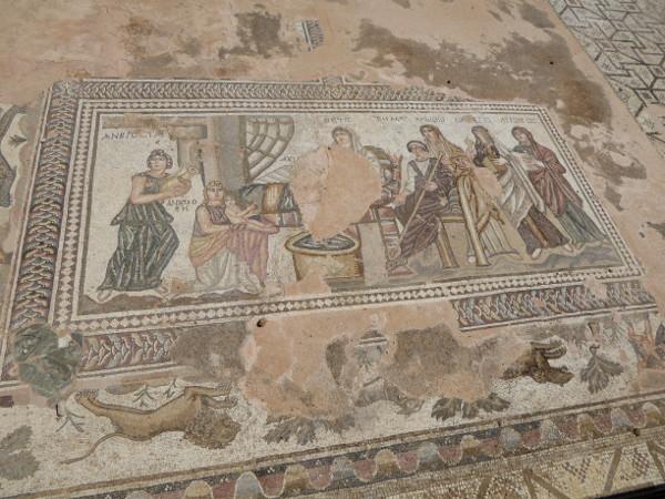 Mosaike Kato Paphos Archeological PArk Zypern
