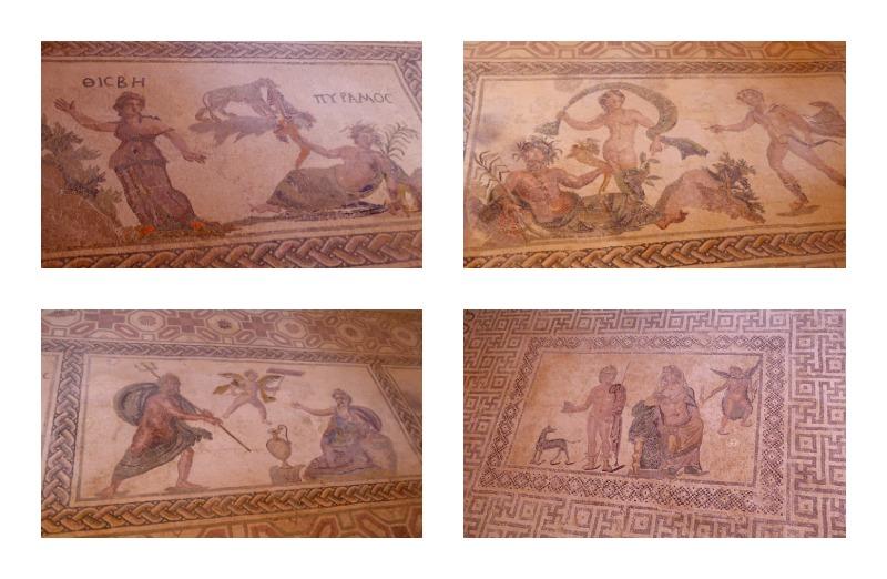 Mosaike Liebespaare