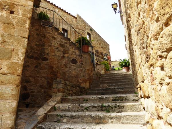 Pals Dorf aus Stein Costa Brava