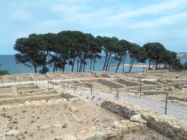 Ruines d empuries Costa Brava griechische Siedlung