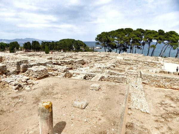Ruines d empuries Costa brava griechisch