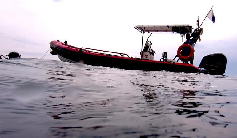 Tauchsaison Tauchboot Costa Brava