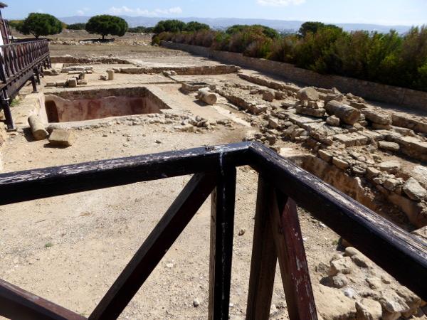 archeological Park Kato Paphos Zypern