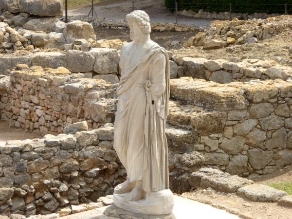 griechischer Tempel Ruines d empuries Costa brava