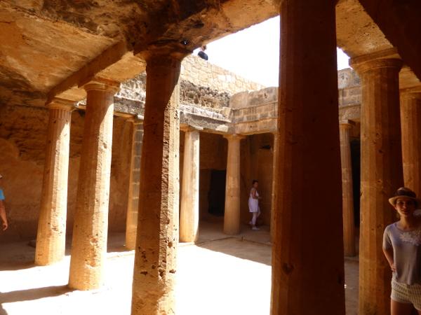 in den Kato Paphos Königsgräber von Nea Zypern