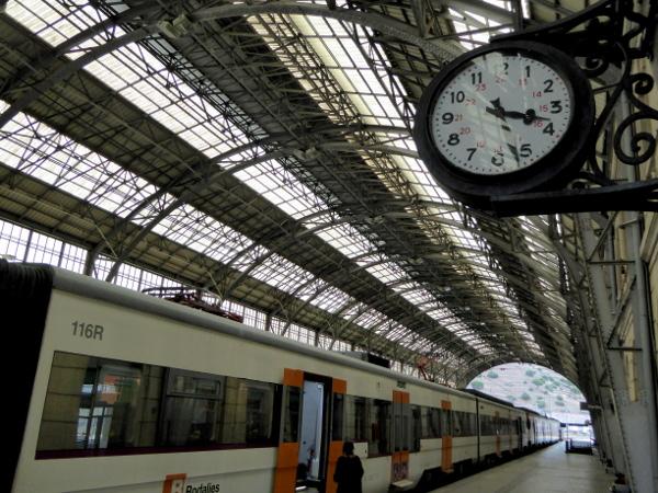 Bahnhof Portbou estacio Freibeuter Reisen