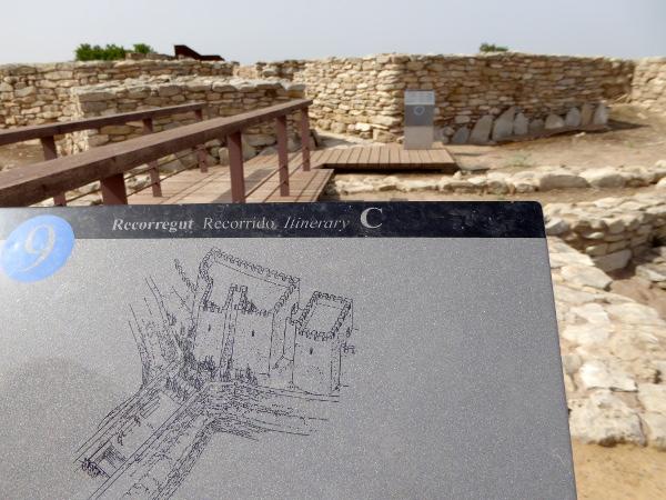 Burg Stadt iberer siedlung Arbeca freibeuter reisen