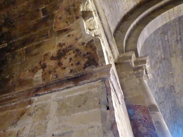 Burg der Tempelritter Gardeny Lleida Freibeuter Reisen kirche sternenhimmel