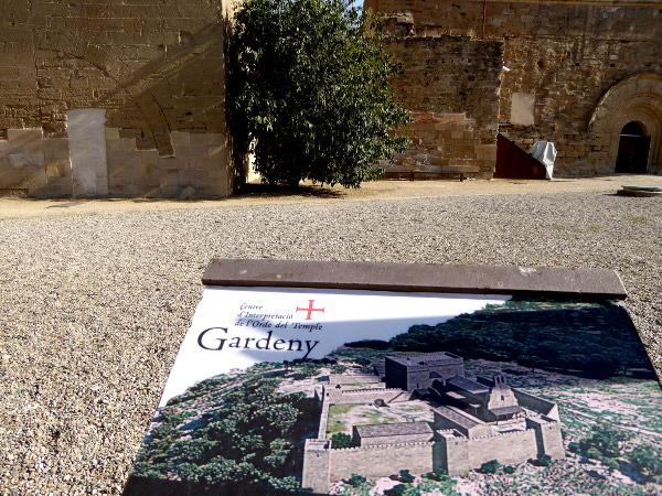 Burg der Tempelritter Gardeny Lleida Freibeuter Reisen orden del temple