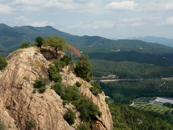 Burgen Route Castell de Farners Freibeuter Reisen