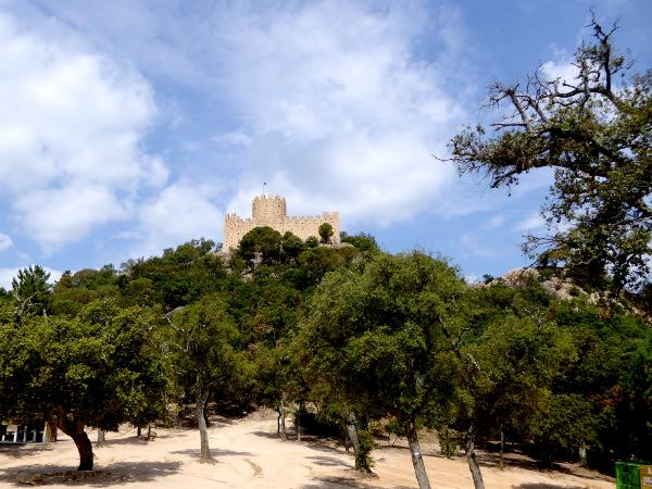 Die Burg castell de farners Freibeuter reisen Burgen Route