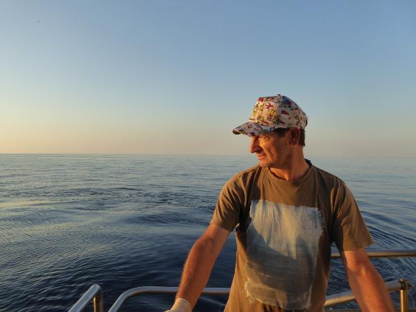Hafen Roses Fischer Freibeuter Reisen Joan der Fischer auf dem Meer