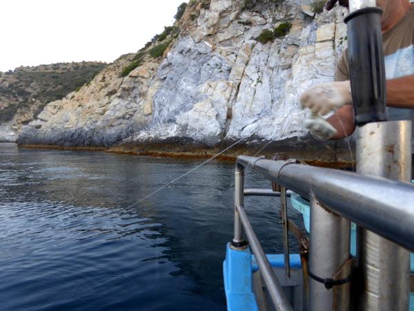 Hafen Roses Fischer Freibeuter Reisen leine einholen