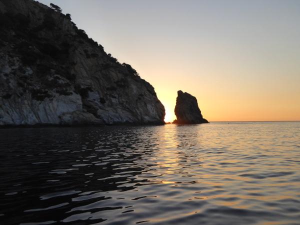 Hafen Roses Fischer Freibeuter Reisen sonnenaufgang an der Costa brava