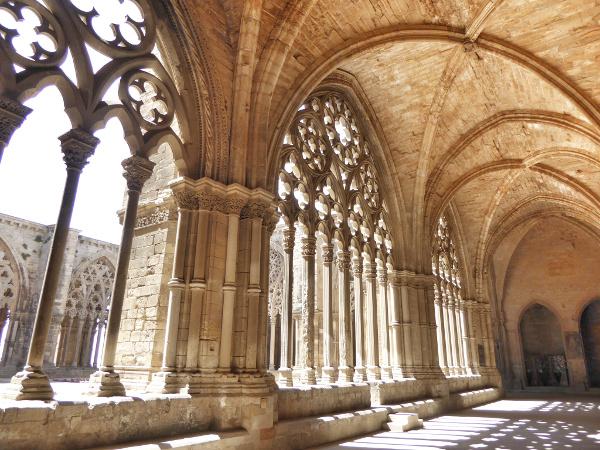 Kreuzgang Kathedrale la seu vella lleida freibeuter reisen