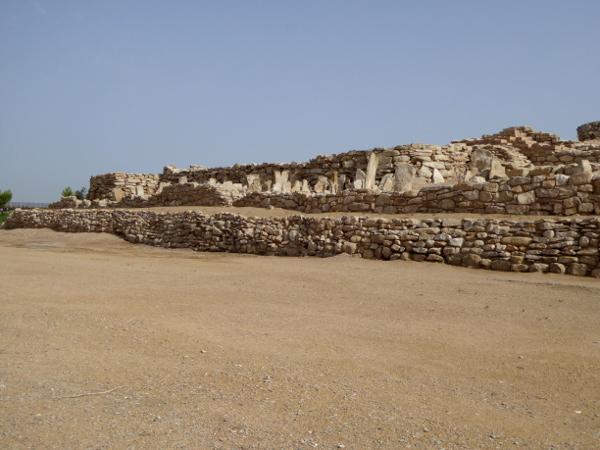 Mauern graben iberer siedlung Arbeca freibeuter reisen
