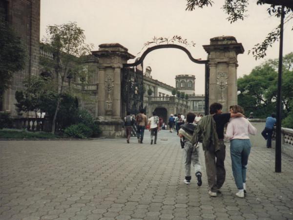 Mexiko la DF Chapultepec Schloss