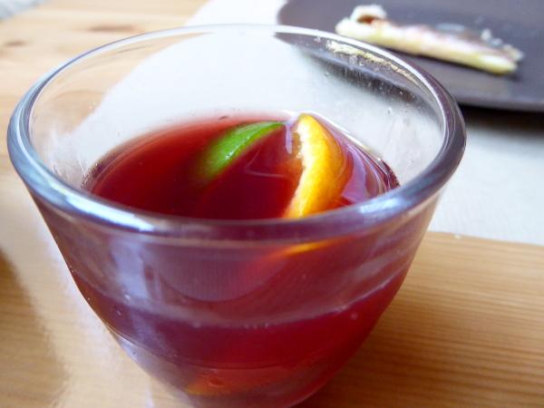 Portbou Cafe Freibeuter Reisen sangria