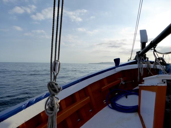 Telamarinera RAfael boot Costa Brava Freibeuter reisen. au f dem meer