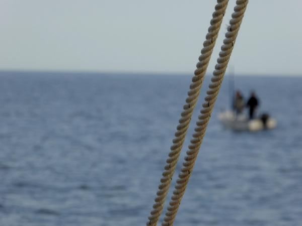 Telamarinera RAfael boot Costa Brava Freibeuter reisen. fischer hinten