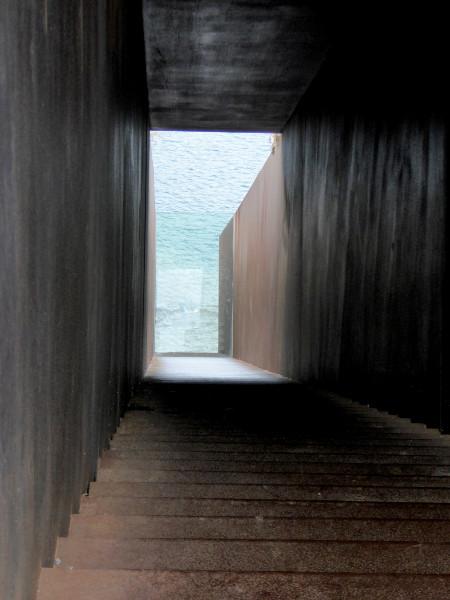 Tunnel Walter Benjamin Portbou Freibeuter Reisen
