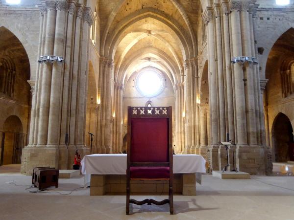 apsis kathedrale lleida la seu vella freibeuter reisen