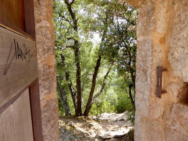 castell de farners Freibeuter reisen Burgen Route blick wald