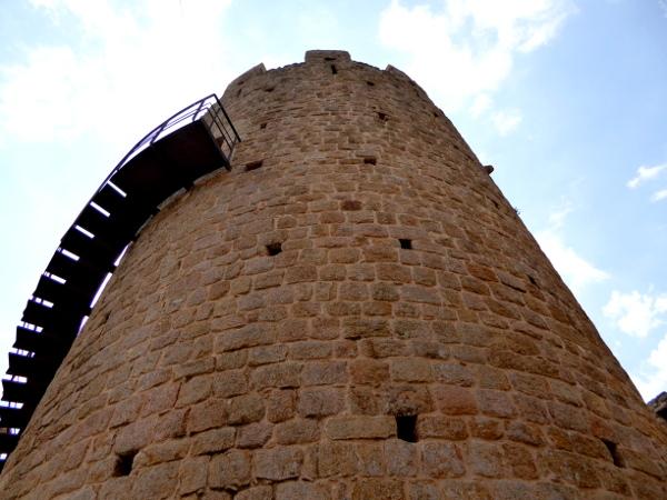castell de farners Freibeuter reisen Burgen Route turm