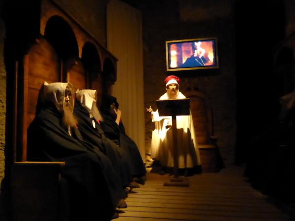 in der Burg der Tempelritter Gardeny Lleida Freibeuter Reisen