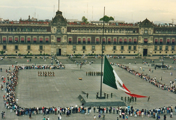 mexiko Mexico city zocalo