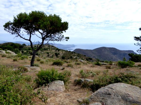 Aussicht Sant Pere de Rodes Kloster Freibeuter reisen
