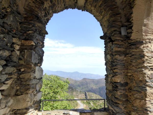 Blick vom Monastir Sant Pere de Rodes Freibeuter Reisen
