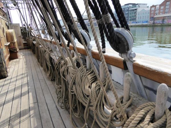 Dublin Jeanie Johnston Great Famine Schiff der Auswanderer Freibeuter Reisen