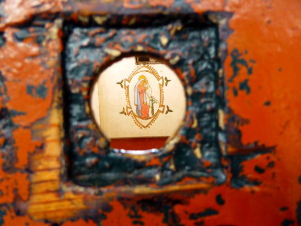 Dublin Kilmainham Gaol Schlüsselloch zelle Freibeuter reisen