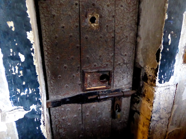 Dublin Kilmainham Gaol tür Zelle Freibeuter reisen