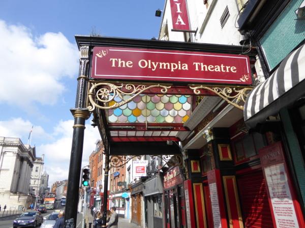 Dublin Olympia theatre konzert Freibeuter Reisen