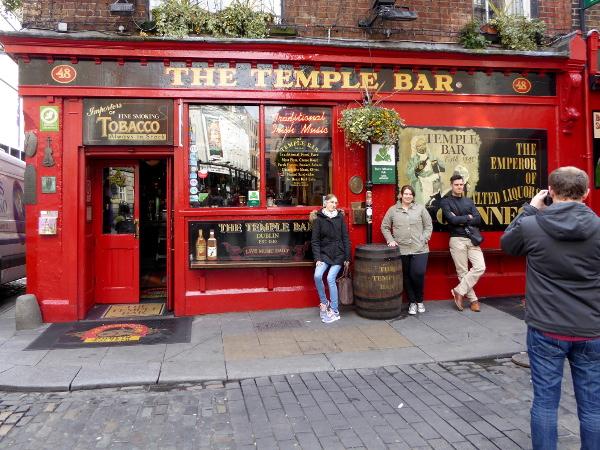 Dublin The temple Bar Freibeuter reisen