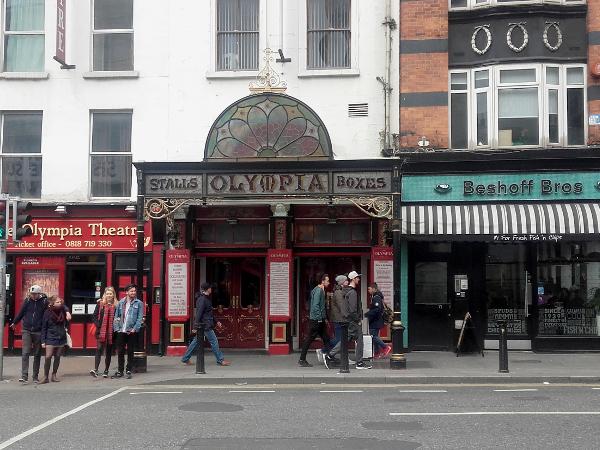 Dublin olympia theatre freibeuter reisen